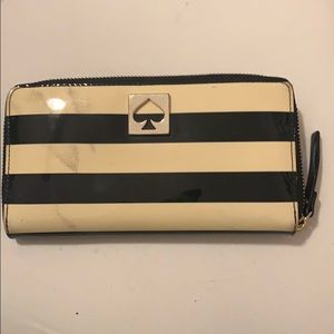 Striped Kate Spade Wallet